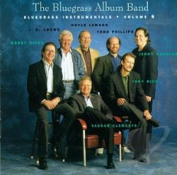 Bluegrass Album Band - Bluegrass Instrumentals, Vol. 6 CD Cover Art