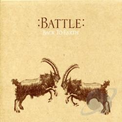 Battle - Back to Earth CD Cover Art