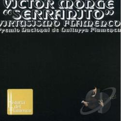 Monge, Victor Serran - Virtusismo Flamenco CD Cover Art