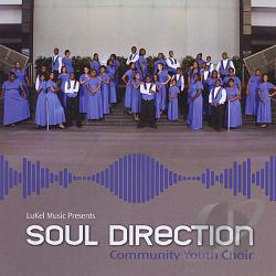Soul Direction Community Youth Choir - Lukel Music Presents CD Cover Art
