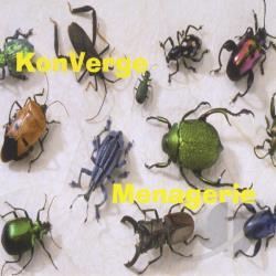 KonVerge - Menagerie CD Cover Art