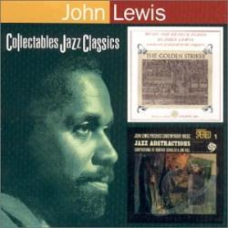 Lewis, John - Golden Striker/John Lewis Presents Jazz Abstractions CD Cover Art