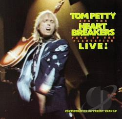 Petty, Tom / Petty, Tom & The Heartbreakers - Pack Up the Plantation: Live! CD Cover Art