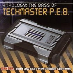 Techmaster P.E.B. - Ampology - The Best Of CD Cover Art
