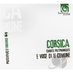 E Voce Di U Comune - Corsica: Chants Polyphoniques CD Cover Art