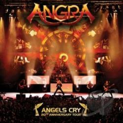 Angra - Angels Cry CD Cover Art