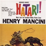 Mancini, Henry - Hatari! CD Cover Art