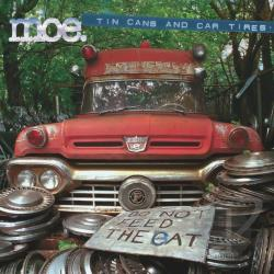 Moe - Tin Cans and Car Tires CD Cover Art