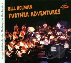 Holman, Bill - Further Adventures CD Cover Art