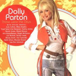 Parton, Dolly - Those Were the Days CD Cover Art