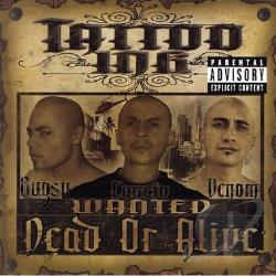 Tattoo Ink - Wanted Dead Or Alive CD Cover Art