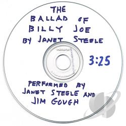 Steele, Janet - Ballad of Billy Joe CD Cover Art