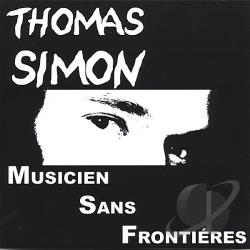 Simon, Thomas - Musicien Sans Frontiares CD Cover Art