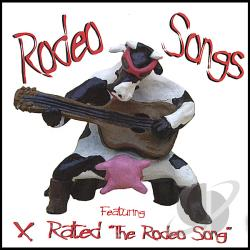 Trash, Trailor - Rodeo Songs CD Cover Art