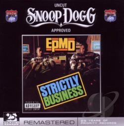 EPMD - Strictly Business CD Cover Art