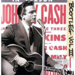 Cash, Johnny - Bootleg, Vol. 3: Live Around the World LP Cover Art