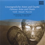 Various Artists - Famous Arias And Duets: Verdi, Mozart, And Puccini DB Cover Art