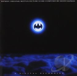 Elfman, Danny - Batman CD Cover Art
