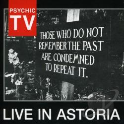 Psychic TV - Live in Astoria CD Cover Art