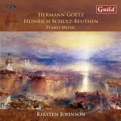 Johnson, Kirsten - Hermann Goetz, Heinrich Schulz-Beuthen: Piano Music CD Cover Art