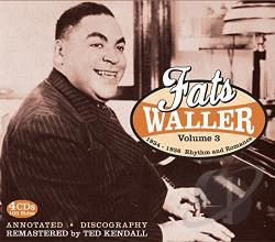 Waller, Fats - Complete Recorded Works, Vol. 3: Rhythm and Romance CD Cover Art