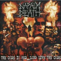 Napalm Death - Code Is Red Long Live The Co CD Cover Art