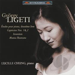 Chung, Lucille - Ligeti:Piano Works CD Cover Art