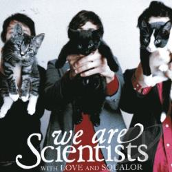 We Are Scientists - With Love and Squalor CD Cover Art