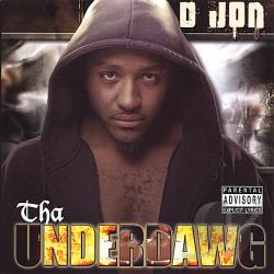 D Jon - Tha Underdawg CD Cover Art