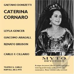 Donizetti, G. - Caterina Cornaro CD Cover Art