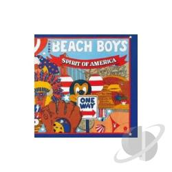 Beach Boys - Spirit of America CD Cover Art