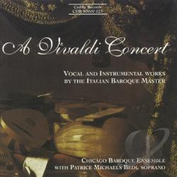 Bedi / Chicago Baroque Ensemble / Vivaldi - Vivaldi Concert CD Cover Art
