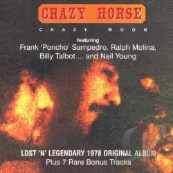 Crazy Horse - Crazy Moon CD Cover Art