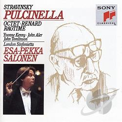 London Sinfonietta / Salonen / Stravinsky - Stravinsky: Pulcinella CD Cover Art