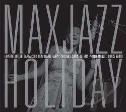 Max Jazz Holiday CD Cover Art