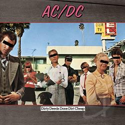 AC/DC - Dirty Deeds Done Dirt Cheap CD Cover Art