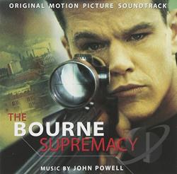Powell, John - Bourne Supremacy CD Cover Art