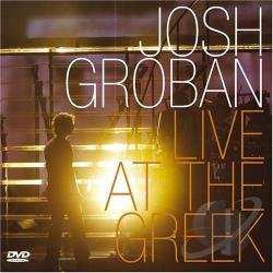 Groban, Josh - Live at the Greek CD Cover Art