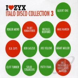 Zyx Italo Disco Collection 3 CD Cover Art