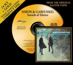 Simon & Garfunkel - Sounds of Silence CD Cover Art