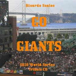 Scales, Ricardo - Go Giants CD Cover Art