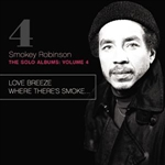 Robinson, Smokey - Solo Albums, Vol. 4: Love Breeze/Where There's Smoke... CD Cover Art