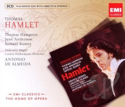 Almeida, Antonio De / Hampson, Thomas / Thomas - Thomas: Hamlet CD Cover Art