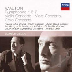 Academy Of St Matrtin / Chung / Marriner / Walton - Walton: Symphonies & Concertos CD Cover Art