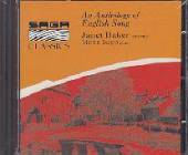 Baker, Janet - Anthology Of English Songs CD Cover Art