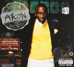 Akon - Konvicted CD Cover Art