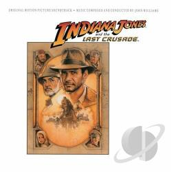 Williams, John - Indiana Jones and the Last Crusade CD Cover Art