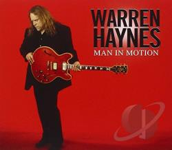 Haynes, Warren - Man in Motion CD Cover Art