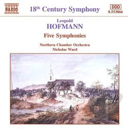 Hoffman - Hofmann: Five Symphonies CD Cover Art