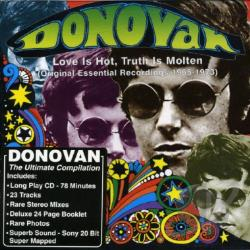 Donovan - Love Is Hot, Truth Is Molten CD Cover Art